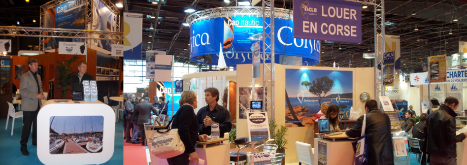 Le salon nautique de paris for Salon sur paris