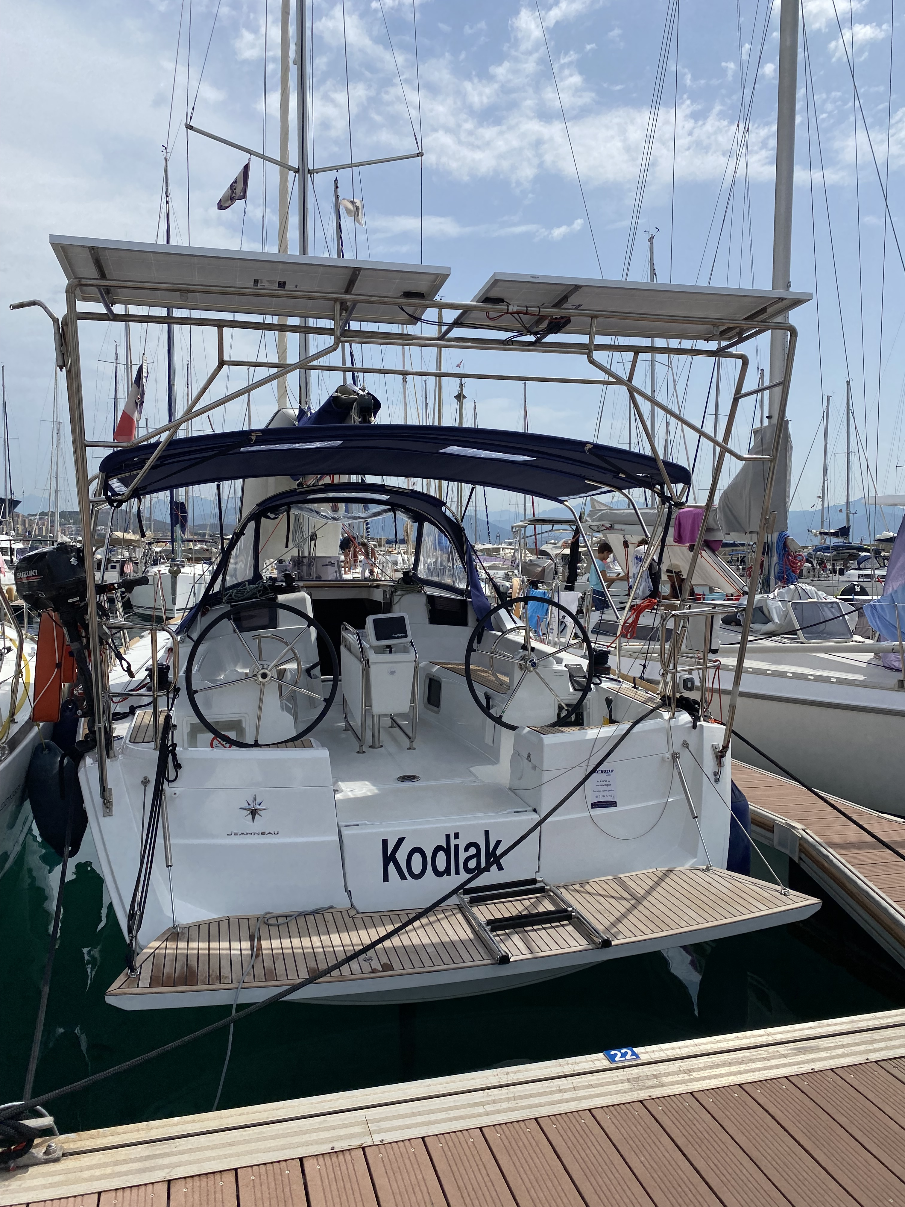 KODIAK - SUN ODYSSEY 389 -  2021 - 3 cabines + 1 sdb