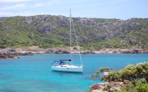 Louer un voilier au printemps au départ d'Ajaccio.
