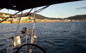 Jeudi 7 octobre, 7h21, appareillage de Kodiak pour Alghero en Sardaigne, première étape.