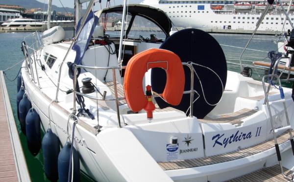 """Kythira II"" Jeanneau Sun Odyssey 36 i version propriétaire"